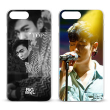 BigBang T.O.P Kpop Coque For Apple iPhone X 8Plus 8 7Plus 7 6sPlus 6s 6Plus 6 5 5S SE 4S 4 Mobile Phone Case Cover Shell Bag