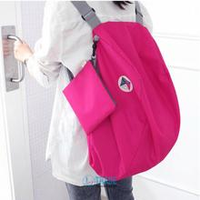Free Shipping Women Multifunctional Folding Outside Sport Gym Travel Storage Bag Single Shoulder Bag Messenger Bag A184