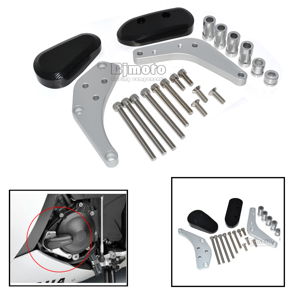 EG-009-SV Newest Aluminum CNC Motorcycle Engine Protector Guard Cover Frame Slider Set For SUZUKI GSX-R 1000 09-13<br><br>Aliexpress