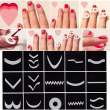 15Pcs/Set Transfer Stickers 3D Design Nail Art Manicure Tips Decal Decoration(China)