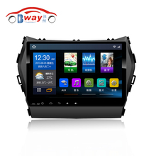"Bway 9"" car radio stereo for Hyundai IX45 SANTA FE 2013 android 6.0 car dvd player with bluetooth,GPS,SWC,wifi,Mirror link"