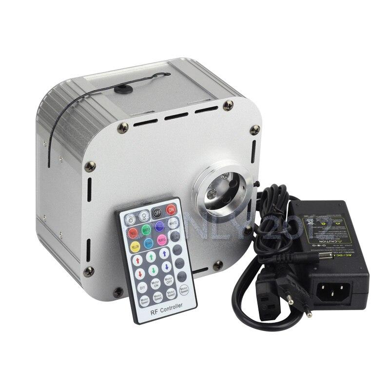 32W 4 level-speed Twinkle RGB LED Fiber Optic Light engine  +28key RF remote<br><br>Aliexpress