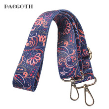 "PACGOTH 2017 Vintage Cotton Bra Straps Bag Part & Accessories Flower Pattern Hold For Bags Purse 75cm(29 4/8""), 1 Piece"