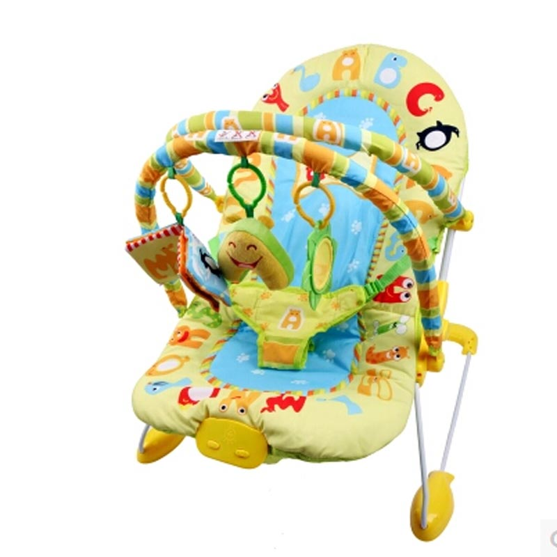 Elec baby rocking chair music vibration multifunctional baby Bouncers, electric rocking chair,baby swing<br><br>Aliexpress