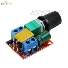 Mini DC 5A Motor PWM Speed Controller 3V-35V Speed Control Switch LED Dimmer-25(China)