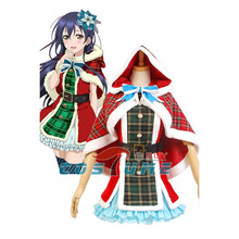 LoveLive! Love Live Umi Sonoda Christmas Uniform Dress Full Set Anime Halloween New Year Cosplay Costumes Women Girls Gift - CostumeBuy store