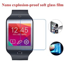Nano Explosion-proof (Soft Glass) Clear Screen Protector Front Protective Film for Samsung Galaxy Gear 2 Neo/R381