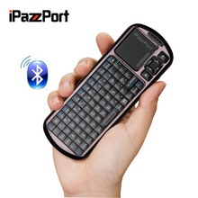 iPazzport Wireless Mini Bluetooth Keyboard Mouse Touchpad For PC Windows Android iOS Tablet PC HDTV Google TV Box Media Player