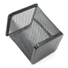 Back to School Square Mesh Pen Pencil Holder Case Stand Container Cup Office Accessories Home Storage Organizer Stationery Store