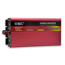 UKC 60V 4000W/4KW Modified Sine Wave Inverter 60V 220V Car power inverter -with Battery Cable full protection CY561-CN
