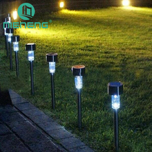 Nieneng solar lawn lights outdoor fence waterproof lighting led plug in courtyard solar lights small tube lights panel ICD90050
