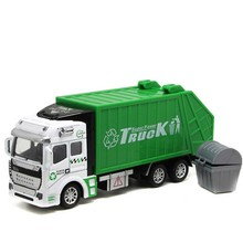 Best seller high quality giocattolo Childrens Kids educational Garbage Truck Toy Car as Birthday Present juguete  wholesale S7