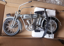 Antique classical motorcycle model retro vintage wrought metal crafts for home/pub/cafe decoration or  gift
