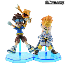 Anime Digimon YAMATO Gabumon Digital Monster Digimon Adventure Game Digimons Doll Model Toy 11cm(China)