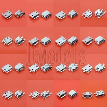 16 models 32pcs/lot micro usb connector Very common charging port for ZTE Huawei and other brand mobile,tablet GPS