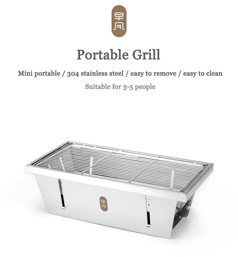 8d3b6cf4af0f38 Detail Feedback Questions about Xiaomi mijia zaofeng Portable BBQ ...