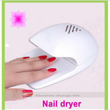 New Arrival 2017 Hot Selling Mini Portable Nail Polish nail Dryer Fan Nail Art Drying Polish Blow Dryer tool led uv gel 110/240v