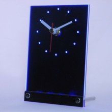 tnc-tm Custom Made Your Own Design 3D LED Table Desk Clock(China)