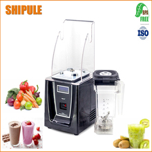 SHIPULE 2017 High efficient BPA free low noise food processer milk shake smoothie ice crusher machine blender(China)