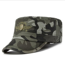 2017 US Army Flat Top Mens Caps And Hat Adjustable Fitted Cotton Cap Baseball Casual Military Hats For Men HT51171+35