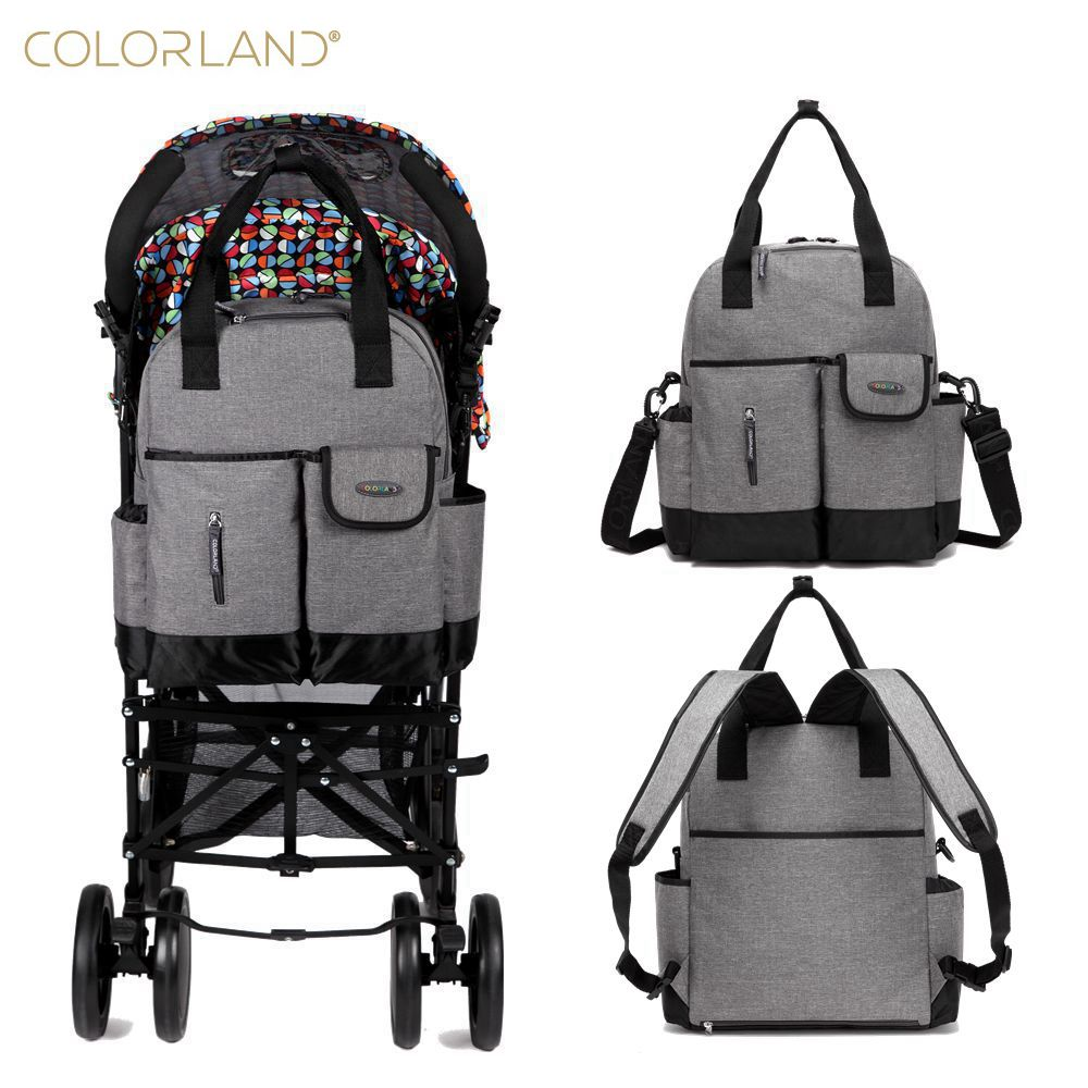 Colorland Baby stroller travel mummy mommy Maternity nappy diaper tote messenger Bag backpack bags organizer mochila maternal <br>