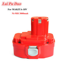 Ni-MH 18v 3.0Ah Replacement For Makita power tool battery 192827-3 1834 192829-9 193159-1 1823/193140-2 193102-0 1822 1835