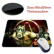 Babaite borderlands Rubber Soft Gaming Mouse Games Black Mouse pad(China)