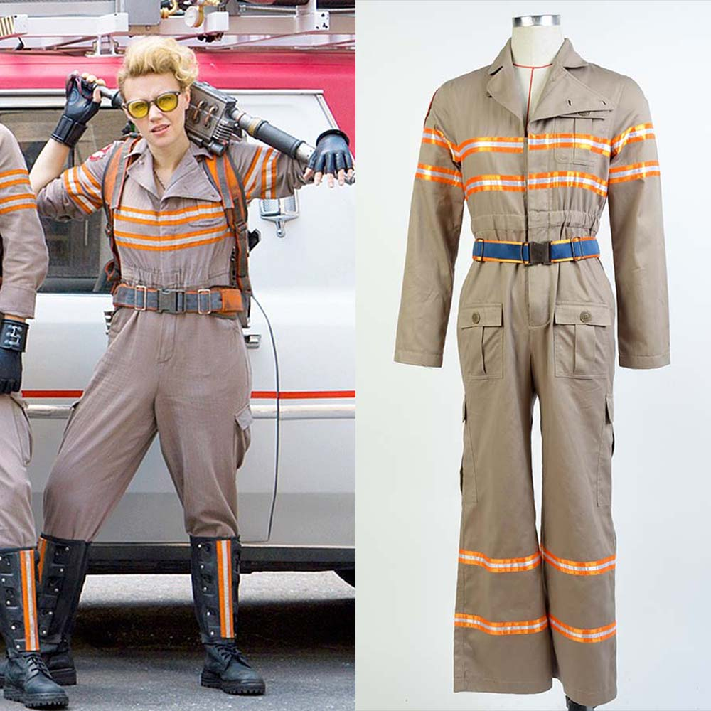 Ghostbusters Costume Ghost Busters Cosplay Jumpsuit Halloween Team ...