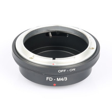 FD-M4/3 lens Adapter For Canon FD Lens to Micro 4/3 M4/3 Camera for Olympus EP2 EP3 EPL1 EPL2 EPL3 EPM1 EPM2 EM1 EM5 OMD GF1 GF3(China)