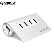 ORICO M3H4 USB HUB 4 Port USB 3.0 HUB and 1 Port USB3.0 5Gbps and 3 Ports USB2.0 480Mbps Aluminum Alloy Desk Hub Mac Design(China)