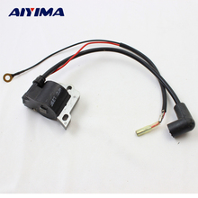 1pc chainsaw ignition coil 139 lawn mower parts trimmer Gasoline engine hedge machine accessories lawnmower(China)