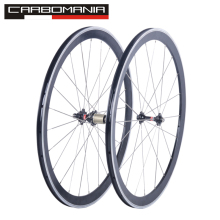 2016 no carbon road bike wheels alloy brake 700C road wheels aluminium bicycle wheels V brake clincher road wheelset novatec hub(China)