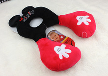 New Baby Neck pillow Anti-fall Stereotypes Plush Doll Stroller car bed Safe sleep soft comfortable Large childrens gift Toddlers