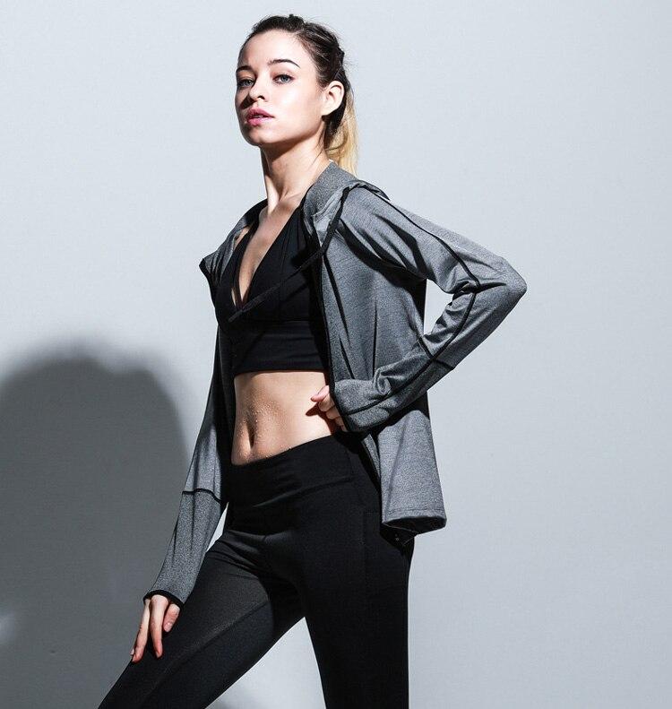 Yoga Top Women Yoga Shirts Long Sleeve Gym