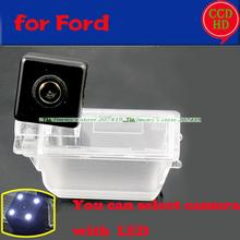 for sony ccd Ford Escape 2012 car rear view reverse camera wire wireless HD with LEDS light vision waterproof(China)