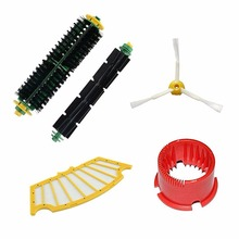 Robots accessories with Brush Filter Cleaning Tool For iRobot Roomba 500 600 Series 550 560 610 replacement Vacuum Cleaner Parts