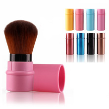 Goforward 2016 Hot Selling Maquiagem Hello Kitty Makeup Tools Retractable Cosmetic Brush 8 Colors(China)
