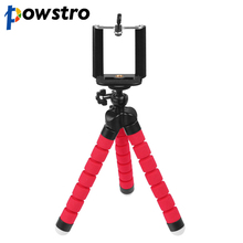 Mini Portable Flexible Tripod with Phone Holder Bracket Stand Tripod Kit for iPhone6s 7 Xiaomi Samsung HTC Cellphone DSLR Camera