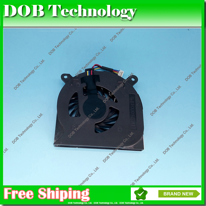 Laptop CPU Cooling Fan For Dell Latitude E6400 Precision M2400 Fan FX128 UDQFRZH08CCM DC280004IP0(China (Mainland))