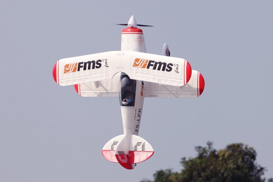 FMS RC Airplane 1400MM / 1.4M Pitts PNP Biplane Gaint Aerobatic 3D Big Scale Model Plane Aircraft 100% Original FMS Newest(China)