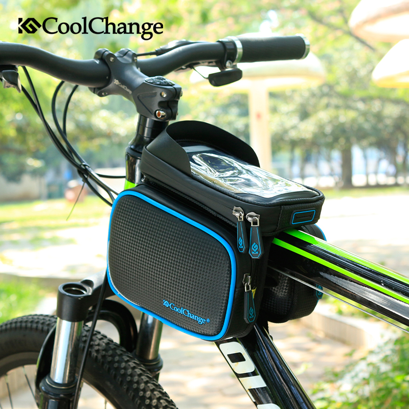 JOY COLORFUL Bicycle Bags Front Tube Frame Cycling