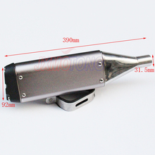 Modified 250cc 200cc 150CC dirt pit bike motorcycle street bike exhaust pipe muffler accessories parts new(China)