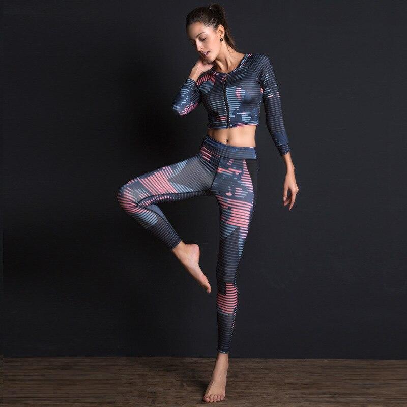 Secado r/ápido Gimnasio Conjunto de Yoga Kit Conjunto de 5 Piezas Conjunto Deportivo para Mujer Conjunto de Yoga para Mujer Conjunto Deportivo Gimnasio Ropa Deportiva ch/ándales