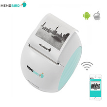 Portable Printer MEMOBIRD G2 New WIFI Printer Phone Remote Wireless Printer Barcode Photo Thermal Printer(China)