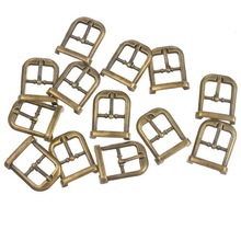 Hoomall 30PCs Metal Shoes Buckles Clips DIY Shoes Bag Belt Buckles Sewing Accessories Bronze Tone 21mmx15mm
