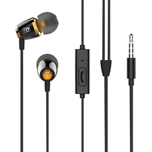 Leadstar,Perfect Bass Effect 3.55mm Alloy Wired In-Ear earphone with Microphone  speaker,mp3 player,phone