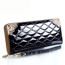 Handbag wallet clutch handbags 2017 European and American fashion casual beauty Hot crocodile wallet phone bag