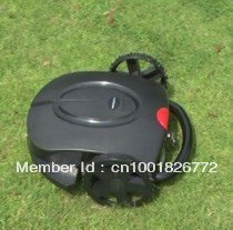 Hot Sale Robot Lawn Mower With Rain Cover Black Robotic Lawn Mower With Good Quality Free Shipping