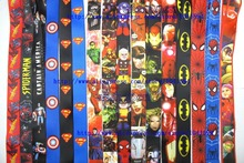 Free Shipping 1000 Pcs Mixed Popular Cartoon Mobile Phone Neck Straps  Key Chains Neck Strap Keys Camera ID Card Lanyard  GS0109