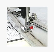 Domestic Low Shank Multifunctional Electric Sewing Machine Parts Invisible Zipper Foot Snap On Singer Brother Janome Juki Etc.